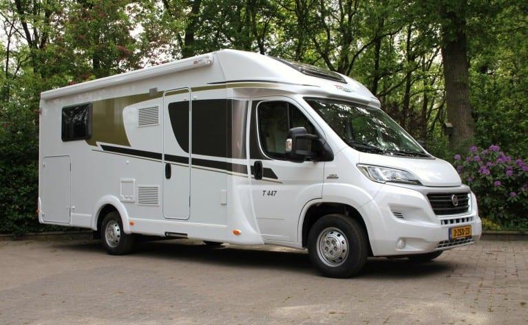Vier nieuwe camperplekken Hoogeveen in Drenthe