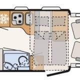 Dethleffs T6717 camper camper huren