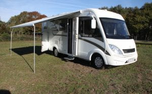 hymer 4 pers automaat
