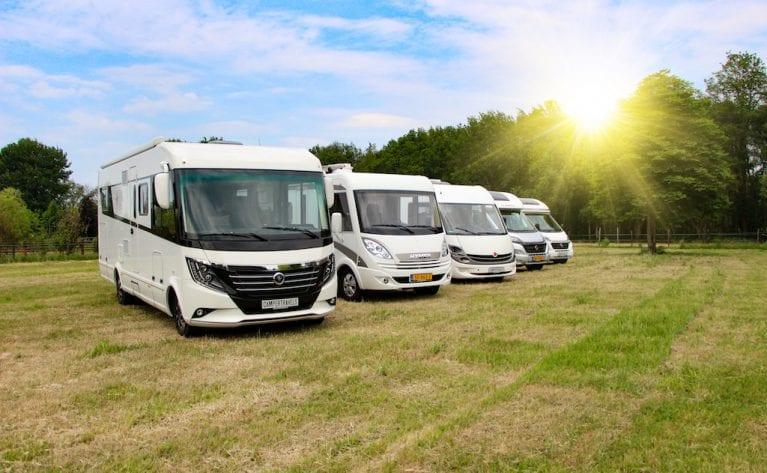 Camper verkoop in Nederland op recordhoogte
