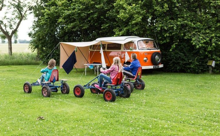 1,7 miljoen gasten op Nederlandse campings in juli en augustus 2018