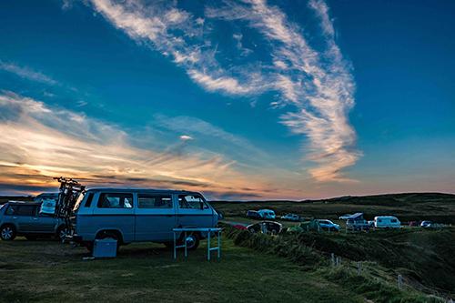 camperplaatsen in de natuur