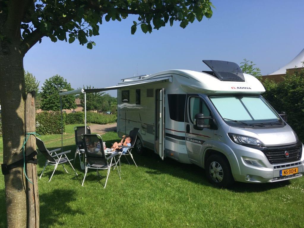 nieuwe camper huren